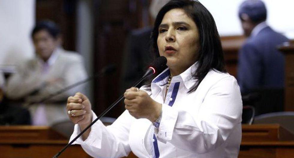Ana Jara no había sido incluida en la lista original del Partido Nacionalista, fórmula que su propio personero legal impugnó. (Foto: Congreso de la República)