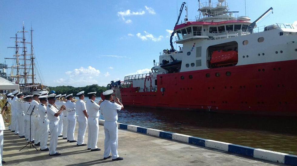 De acuerdo a la Marina de Guerra del Perú (MGP), el buque Carrasco colocará al país en la vanguardia de la tecnología náutica.  (Foto:Marina de Guerra)