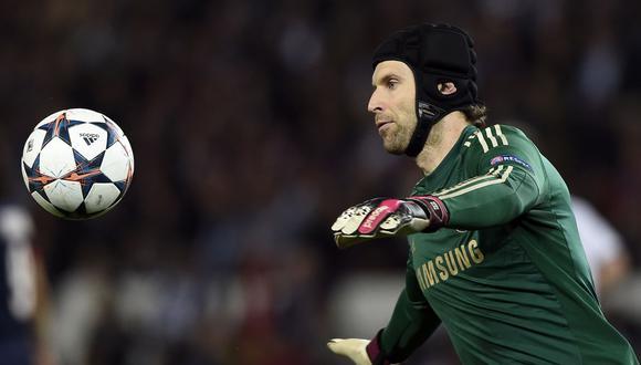 Petr Cech fue campeón de la Champions League con el Chelsea en 2012 | Foto: AFP