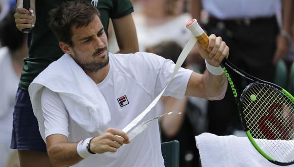 Guido Pella, tenista argentino. (Foto: Reuters)