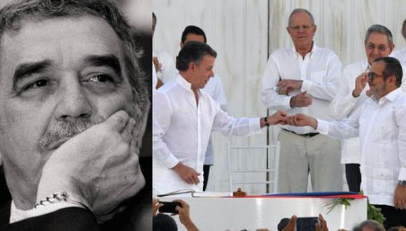 """Bibliotecario de García Márquez: """"Él estaría feliz con la paz"""""""