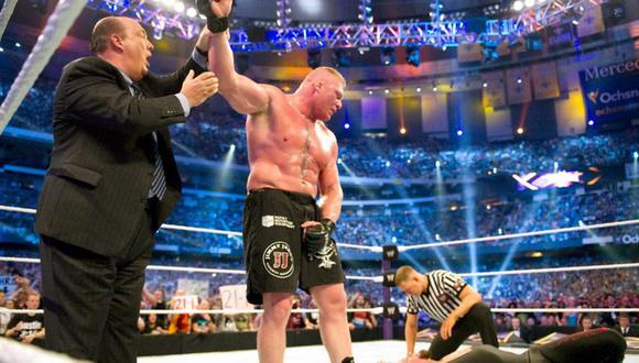 Undertaker no pudo ante Brock Lesnar en Wrestlemania 30 y perdió su invicto en el mayor evento de la industria de lucha libre. (Fotos: WWE.com)
