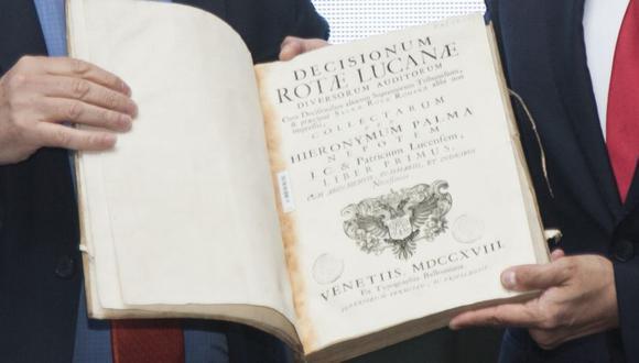 El año pasado, la Dirección de Bibliotecas, Archivos y Museos de la República de Chile (DIBAM devolvió a la Biblioteca Nacional del Perú 730 volúmenes. (Archivo El Comercio)