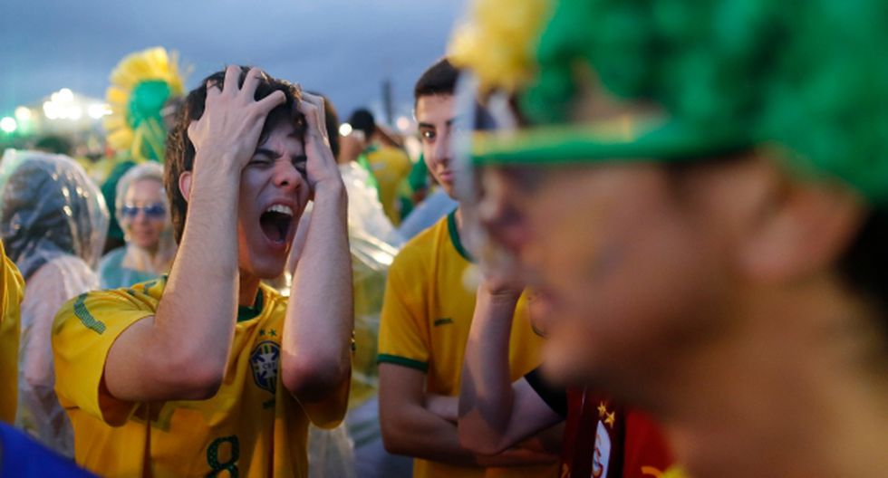 Tensión y pánico en Copacabana por el 7-1 que recibió Brasil