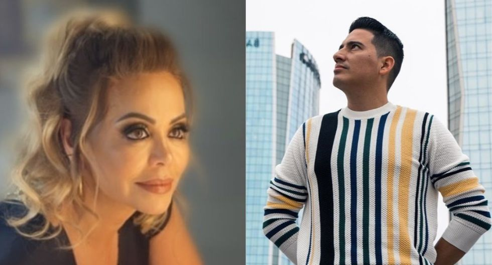 Gisela Valcárcel y Pedro Loli (Foto: Instagram)