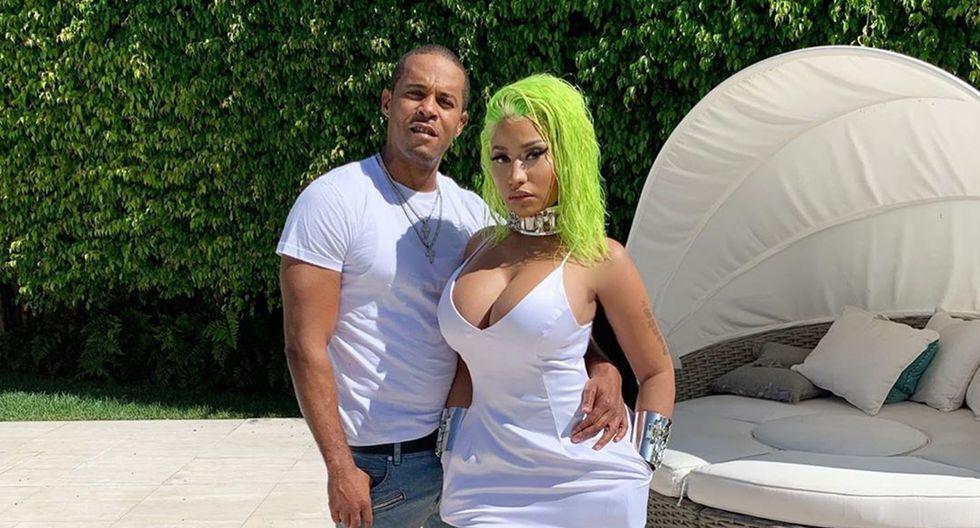 Nicki Minaj y su esposo Kenneth Perry. (Foto: Difusión)