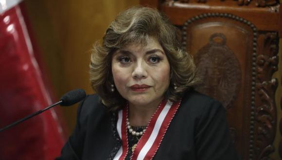 Fiscal de la Nación, Zoraida Ávalos,  (Foto. GEC)