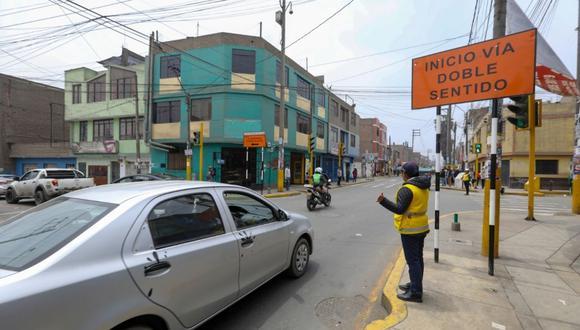 Los trabajos en las rutas alternas a la Carretera Central busca mejorar la fluidez vehicular. (Municipalidad de Lima)