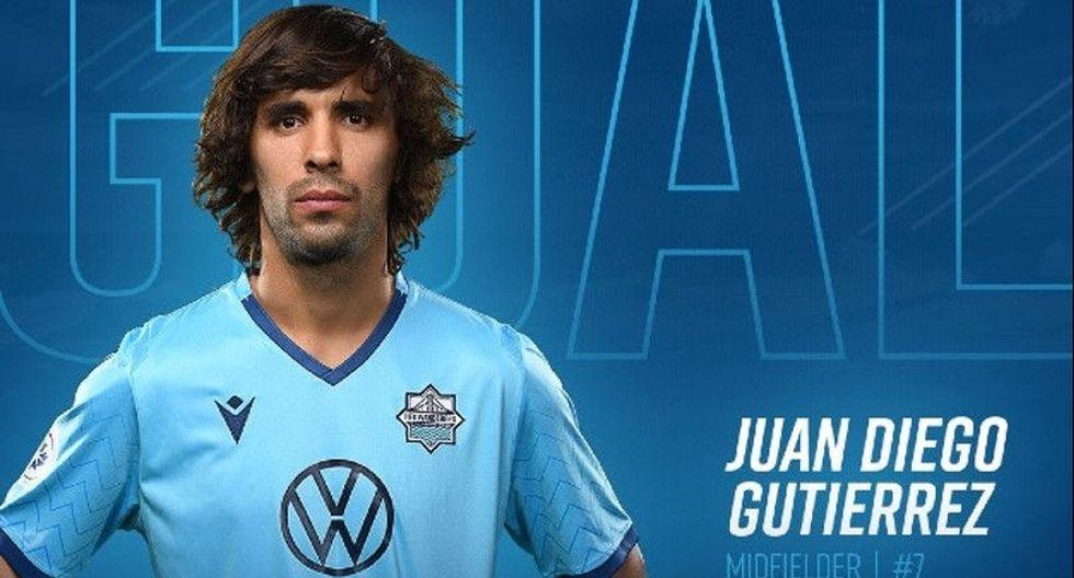 El volante Juan Diego Gutiérrez de 27 años, pasó de HFX Wanderers FC a Oriente Petrolero de la Liga boliviana. (Foto: Twitter)