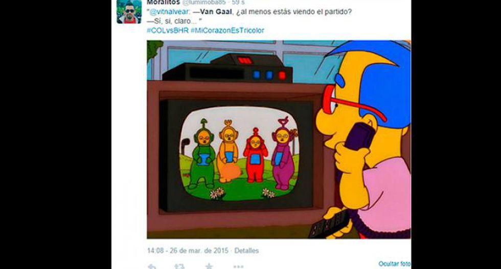 Van Gaal y los memes tras los dos goles de Falcao con Colombia - 14