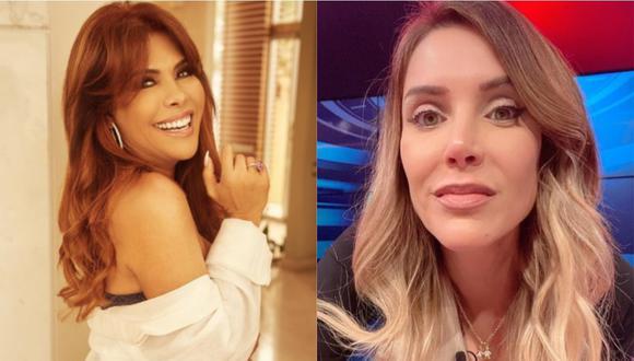 """Magaly Medina confirma distanciamiento con Juliana Oxenford: """"No comulgo con ella"""". (Foto: @magalymedinav/@julianaoxenford.oficial)"""