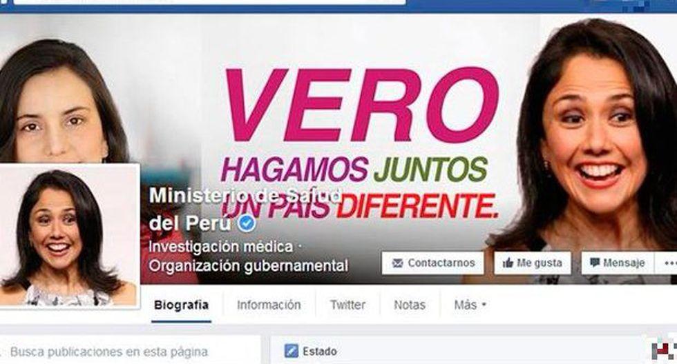 Ministerio de Salud: sitio en Facebook fue víctima de hackers