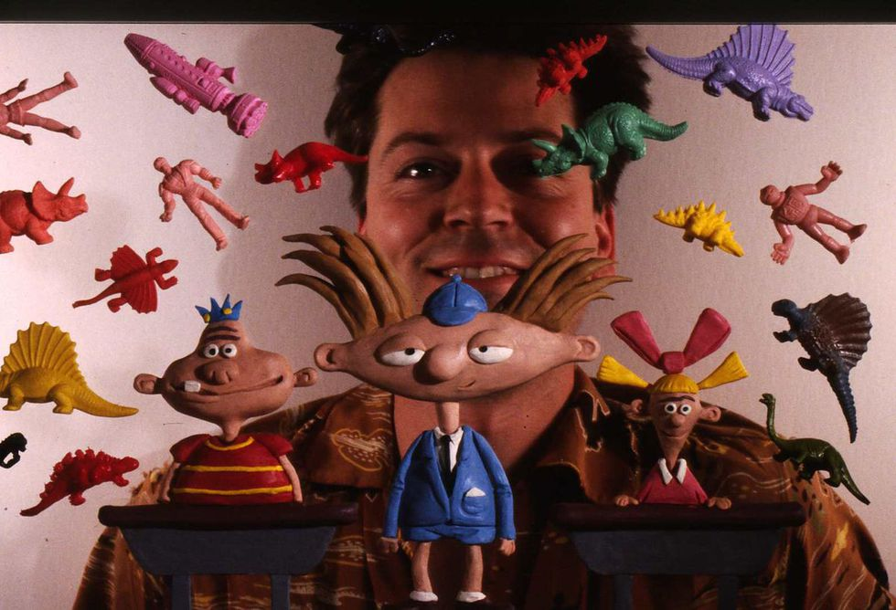 Craig Bartlett fue el creador de 'Hey Arnold!' en el año 1996. (Foto: Nickelodeon)