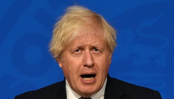 Coronavirus: Llevar mascarilla dejará de ser obligatorio en Inglaterra desde el 19 de julio, anuncia Boris Johnson. (DANIEL LEAL-OLIVAS / POOL / AFP).