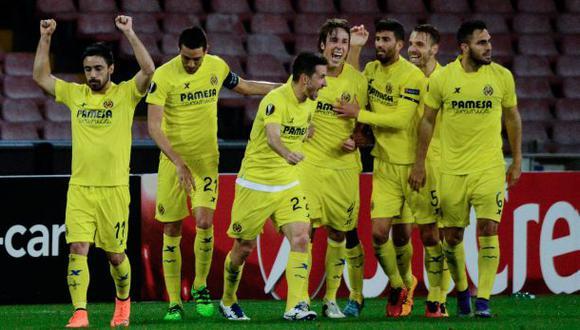 Villarreal eliminó al Napoli y está en octavos de Europa League