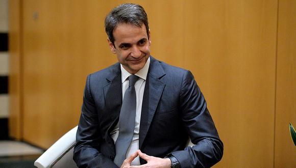 """""""El poco carismático Kyriakos Mitsotakis arrasó en las elecciones del domingo y ahora controla el Parlamento""""."""