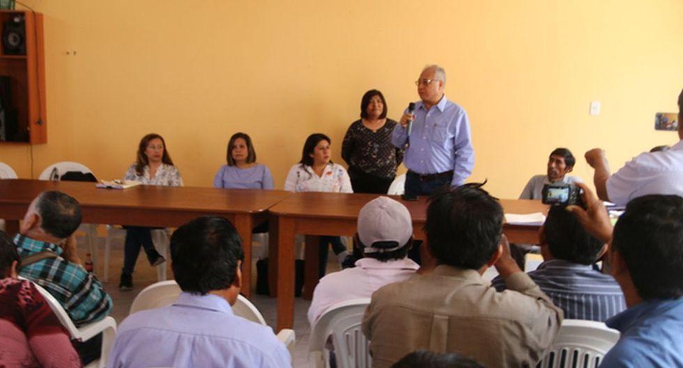 La reunión del viernes permitió el levantamiento del paro contra el proyecto Quellaveco. (Foto: Difusión)