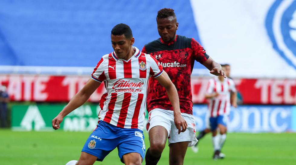 Chivas enfrentó al Toluca por el Clausura 2021 de la Liga MX | Foto: Chivas