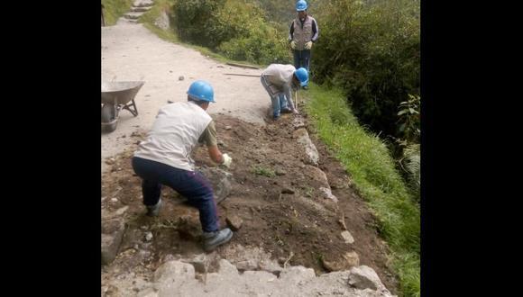 La Red de Caminos del Inca se ha visto afectada por las intensas lluvias. (Foto: DDC Cusco)