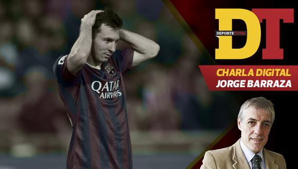 """Jorge Barraza: """"Messi debería pensar seriamente en irse"""""""