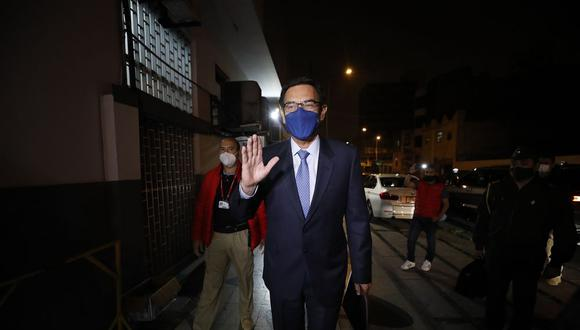 El expresidente de la República Martín Vizcarra seguirá siendo investigado por el fiscal Germán Juárez, del equipo especial Lava Jato. Foto: César Bueno /@photo.gec
