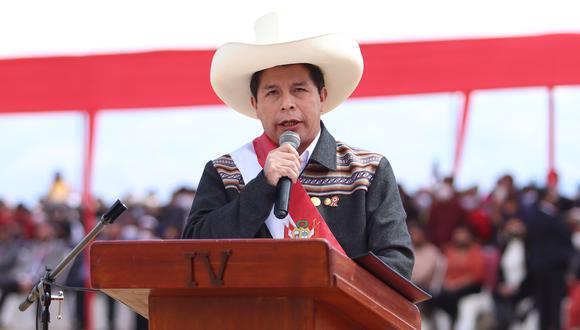 El presidente del Perú, Pedro Castillo, anunció que no despachará en Palacio de Gobierno. (Foto: Presidencia)