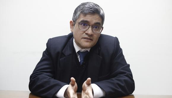 Fiscal José Domingo Pérez investigará a partir de ahora el caso Susana Villarán (Foto: César Campos)