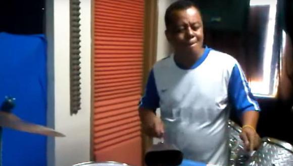 El músico Fernando Colina falleció la semana pasada en Colombia por peritonitis. (Captura de video, YouTube).