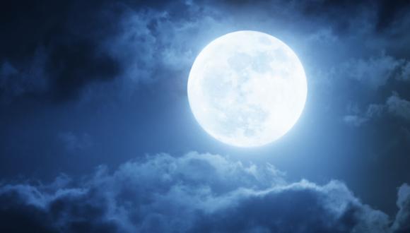 El termino superluna hace referencia a cuando la Tierra se encuentra en el momento más cercano a la luna (perigeo). (Foto referencial: Shutterstock)