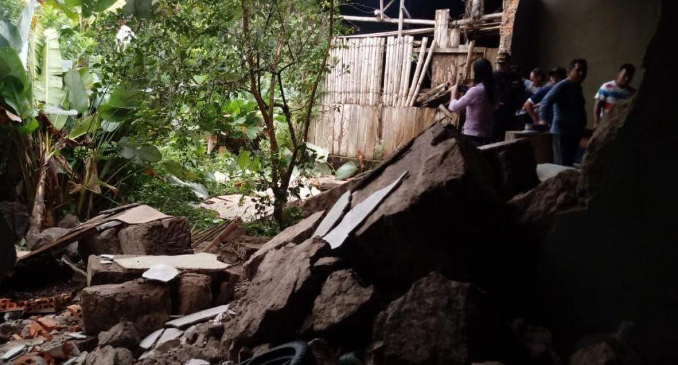 Monitoreo reporta: 226 familias damnificadas, 284 familias afectadas, 15 heridos. (Foto: Difusión)