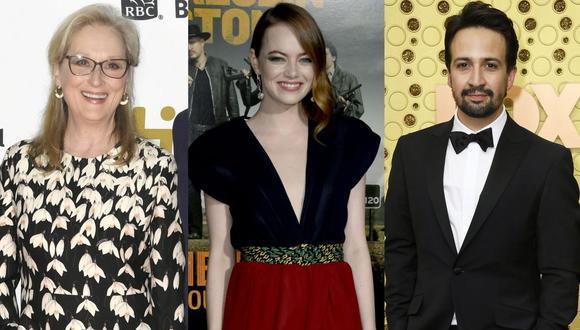 Meryl Streep, Emma Stone y Lin-Manuel Miranda serán anfitriones de Met Gala 2020. (Foto: AFP)