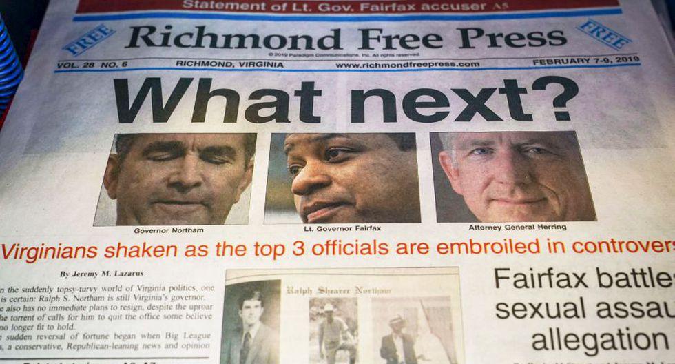 Estados Unidos: Escándalos sobre raza, sexo y abuso de poder causan crisis política en Virginia | Ralph Northam. (AFP)