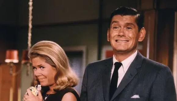 """En la década de 1960, Dick York era una de las caras más conocidas del mundo, por su papel en """"Hechizada"""", serie que protagonizó junto a Elizabeth Montgomery (Foto: ABC)"""