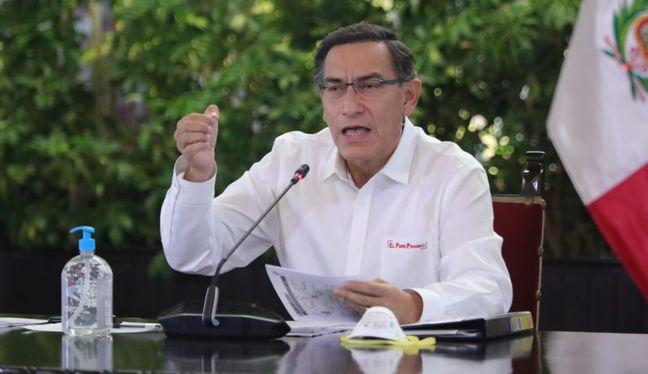 El presidente de la República cuestionó el proyecto de ley que permitiría retirar hasta el 25% de los fondos de las AFP. (Foto: AFP)
