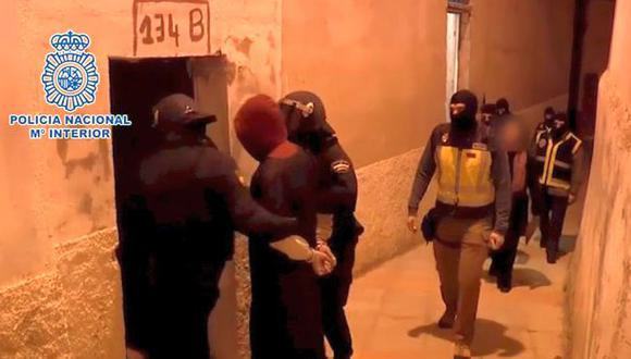España: Capturan a 4 miembros del Estado Islámico [VIDEO]
