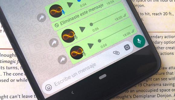 El truco es bastante simple y no necesitas usar una aplicación de terceros. (Foto: WhatsApp)