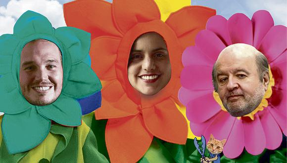 """""""Ellos han salido a convencernos de que son pimpollos que brinda esta primavera. Y en virtud de eso, les corresponde una fumigada preliminar"""". (Ilustración: Víctor Aguilar)"""