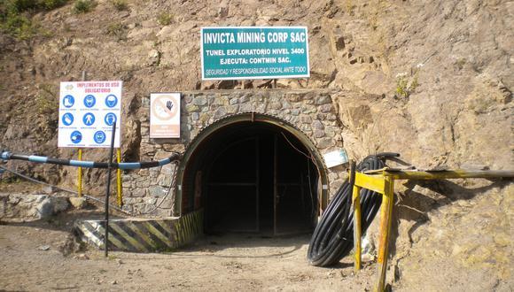 Lupaka planeaba producir 185 mil onzas de oro equivalentes en Invicta, en la sierra de Huaura.