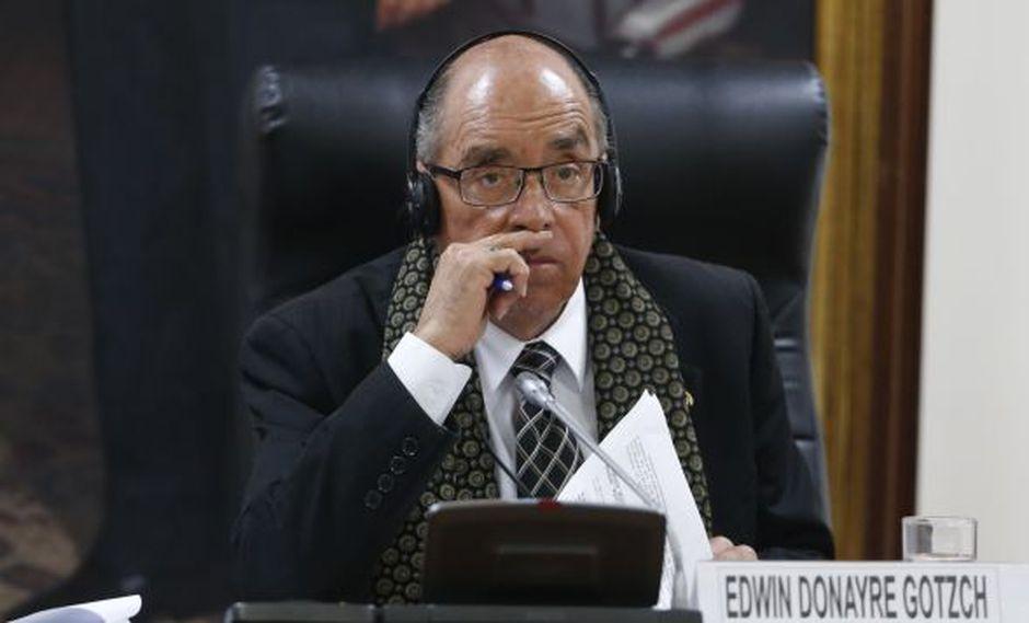 El caso de Edwin Donayre se ha resuelto en segunda instancia en la vía judicial. (Foto: Mario Zapata)