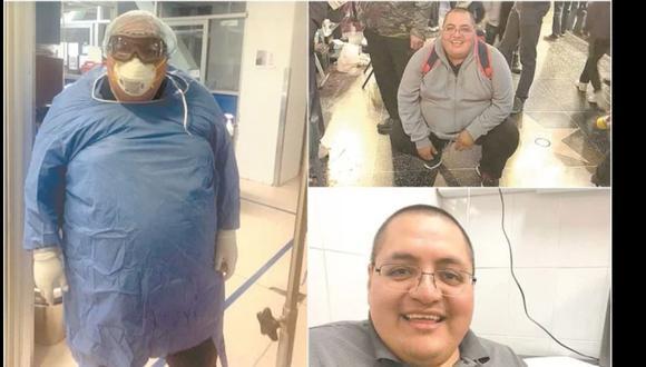 José Porras González, médico cirujano adscrito a Urgencias del Hospital General 30 del IMSS, se sintió mal el lunes 13 de abril, se aisló debido a la fiebre, se medicó pero no pudo vencer al virus por su padecimiento de diabetes. Foto: El Universal/GDA