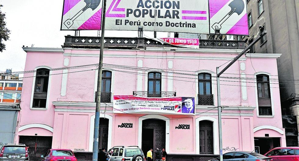 Acción Popular mantiene el liderazgo en las preferencias al Congreso que completará el período parlamentario 2016-2021. (Foto: Juan Ponce/ GEC)
