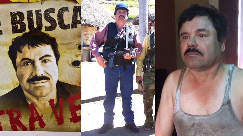 Fugas, capturas y extradición: Así fue la escurridiza vida de El Chapo Guzmán. ( AFP // Captura // EFE)