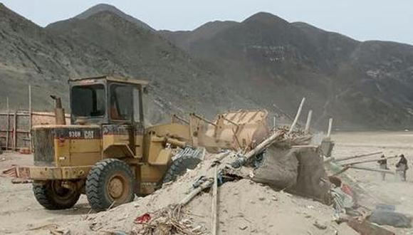 La mayor área recuperada se registró en Marcona, en la región Ica, con 2´430.885,13 m2 de terreno público. (Foto: SBS)
