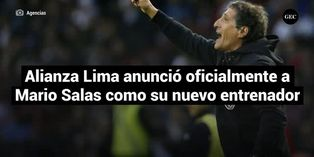 Alianza Lima anunció oficialmente a Mario Salas como su nuevo entrenador