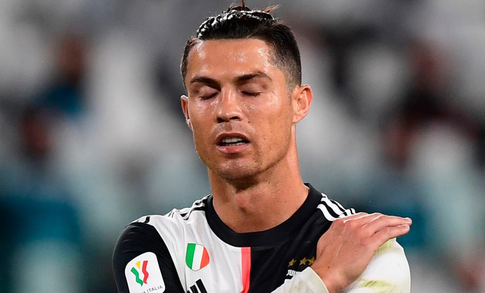 Cristiano Ronaldo falló un penal en el primer tiempo del Juventus vs. Milan | Foto: AFP/AP/EFE
