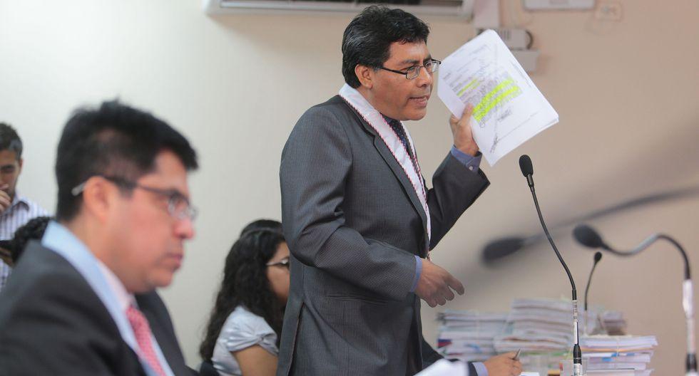 """""""El Ministerio Público ha evaluado conforme a nuestro requerimiento indicios suficientes de que tanto el Partido Nacionalista Peruano como esta empresa han sido instrumento para recepcionar dinero"""", señaló Juárez en la audiencia. (Foto: Archivo El Comercio)"""