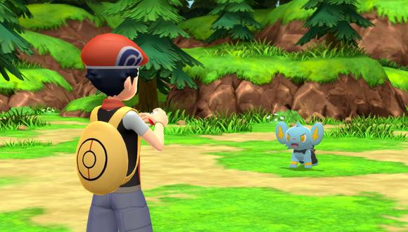 Pokémon Diamante Brillante y Perla Reluciente. (Captura de pantalla)