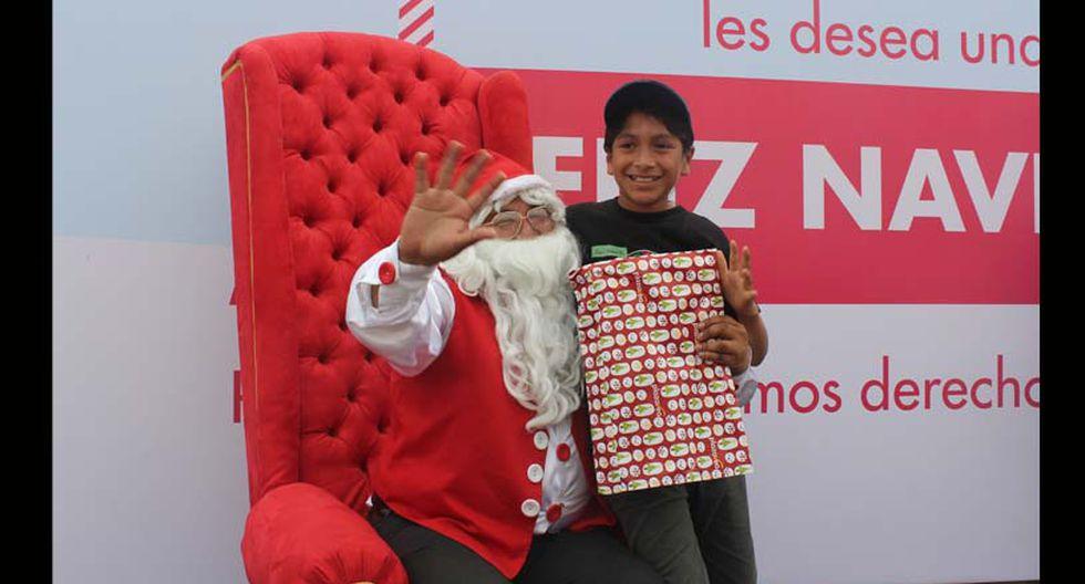 El Papá Noel peruano espera ponerse la barba blanca y su disfraz los años que vienen. (Foto: Difusión)