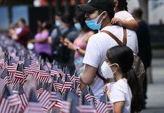 Familiares de víctimas fallecidas por el coronavirus y atentado del 11S rindieron tributo en Nueva York | FOTOS