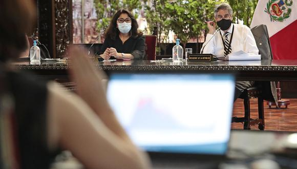Es la segunda sesión que celebra el Consejo de Ministros en esta semana. (Foto referencial: PCM)